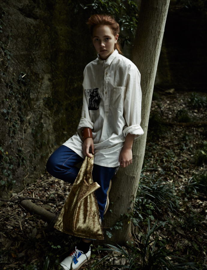 Sleeping Shirt/Ranch Pant/Supermarket Bag
