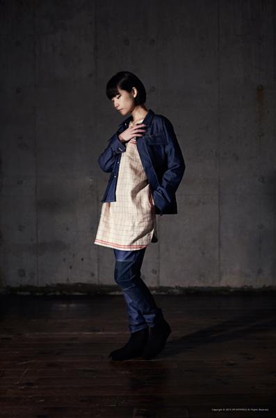 Denim Fatigue Jacket/Linen Tunic/KOFU Denim Pants