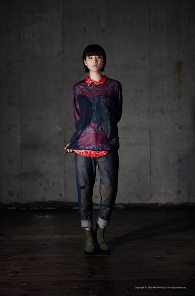 Bandana Shirt/KOFU Mesh Tops/KOFU Denim Pants