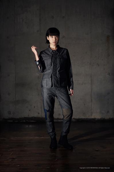 Denim Fatigue Jacket/KOFU Denim Pants